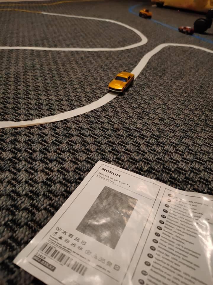 Отзыв о ковре IKEA MORUM с фото