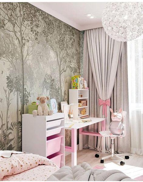 Казкова рожева дитяча кімната з IKEA