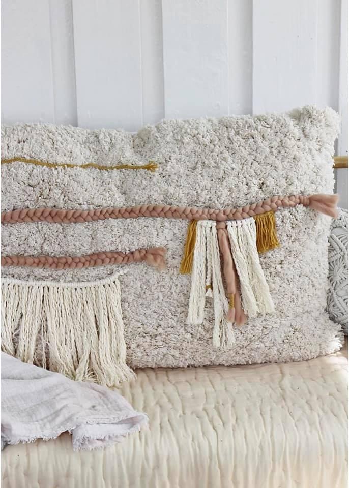 Декоративная наволочка в стиле Бохо «Ла-Ла-Лама»